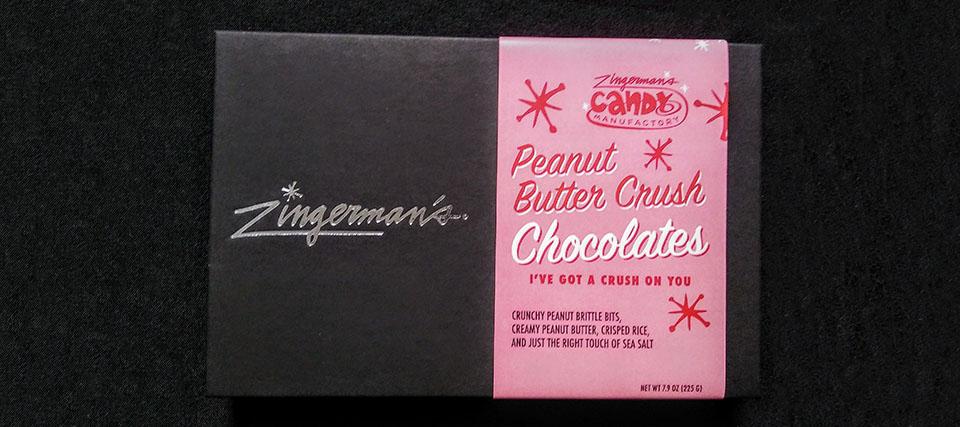 "Peanut Butter Crush ""I've Got a Crush on You"" fancy box"